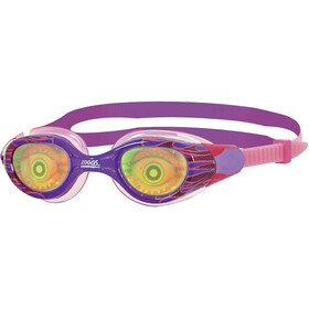 Zoggs Sea Demon Goggles Kinderen, purple/pink